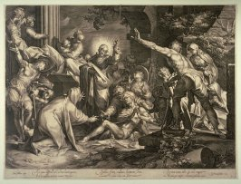 Christ raising Lazarus from the dead