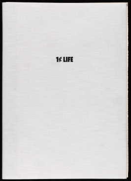 One Cent Life by Walasse Ting (Bern, Switzerland: E. W. Kornfeld, 1964)