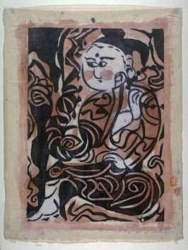 Seated Buddhist Priest with Rosary