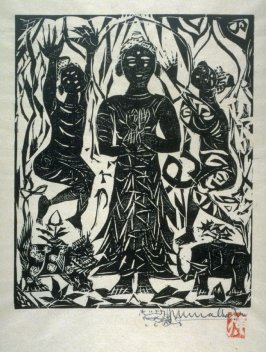Shaka Sanson (Buddha with two Assistants)