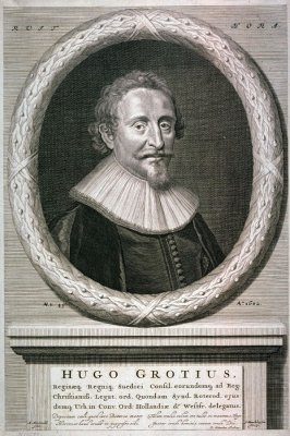 Portrait of Hugo Grotius
