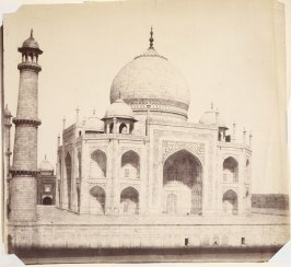Eastern Face of the Taj Mahal, Agra
