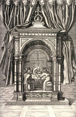 The Last Supper, after the engraving by Agostino Veneziano