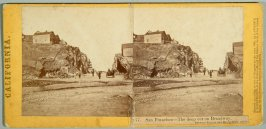 6 stereoscopic cards of San Francisco and California scenes