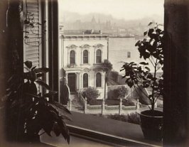 View from the Window of 605 O'Farrell Street, thirty-seventh image in the 605 O'Farrell Street section of the album Home (605 O'Farrell Street, San Francisco and Heartsease, Menlo Park)