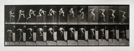 Animal Locomotion (Self-portrait), plate 153 from the book Animal Locomotion. An Electro-Photographic Investigation of Consecutive Phases of Animal Movements. Commenced 1872-Completed 1885 by Eadweard Muybridge... (Philadelphia:University of Pennsylvania,