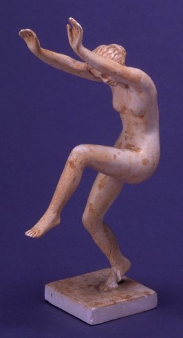 Nude Woman on Pedestal