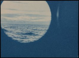 Untitled (Through the Porthole, Ocean and Sky)