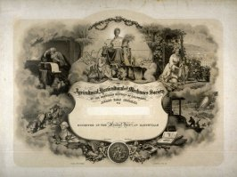 Certificate of The Agricultural, Horticultural and Mechanics Society of the Northern District of California