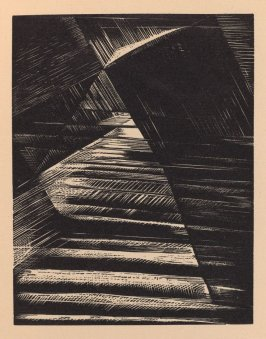 """""""The Division of the Light from the Darkness,"""" illustration III, in the book Genesis from the Bible (Soho (London): The Nonesuch Press, 1924)"""