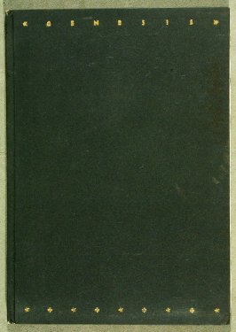 Genesis (London: The Nonesuch Press, 1924)