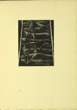 """The Face of the Waters,"" illustration II, in the book Genesis from the Bible (Soho (London): The Nonesuch Press, 1924)"