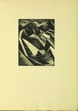 """The Dry Land Appearing,"" illustration V, in the book Genesis from the Bible (Soho (London): The Nonesuch Press, 1924)"