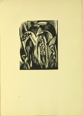 """Vegetation,"" illustration VI, in the book Genesis from the Bible (Soho (London): The Nonesuch Press, 1924)"