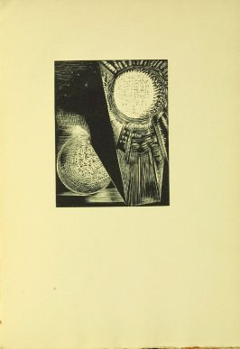 """The Sun and Moon,"" illustration VII, in the book Genesis from the Bible (Soho (London): The Nonesuch Press, 1924)"