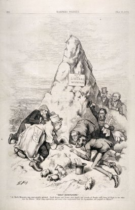 Great Expectations, from Harper's Weekly, (May 18, 1872), p. 392