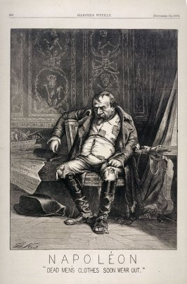 Napoleon, from Harper's Weekly, (September 10, 1870), p. 588