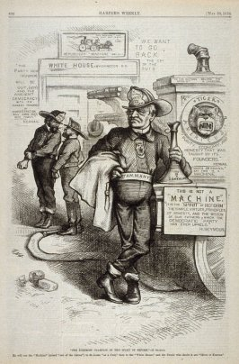 """""""The Foremost Champion of This Spirit of Reform""""- H. Seymour, from Harper's Weekly, (May 20, 1876), p. 404"""