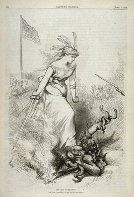 The Duty of the Hour, from Harper's Weekly, (April 1, 1876), p. 264
