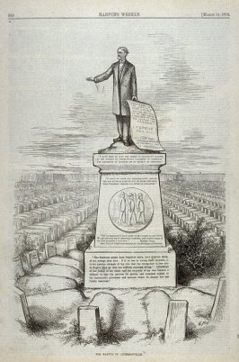 The Martyr of Andersonville, from Harper's Weekly, (March 18, 1876), p. 239