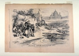 The American River Ganges, from Harper's Weekly, (September 30, 1871), p. 916