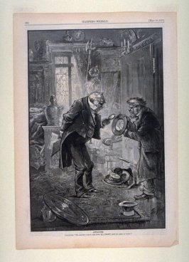Antiquities, from Harper's Weekly, (May 19, 1877), p. 392