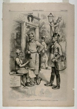 To Crown All, from Harper's Weekly, (April 3, 1880), p. 220