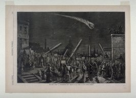 The New Comet - A Phenomenon Now Visible in all Parts of the United States, from Harper's Weekly, (September 23, 1871), p. 505