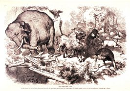 The Third-Term Panic, from Harper's Weekly, (November 7, 1874)