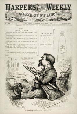 No Rest for the Wicked - Sentenced to More Hard Labor, from Harper's Weekly, cover page