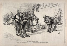 The Greatest Joke of the Century, from Harper's Weekly, (June 20, 1874), p. 520
