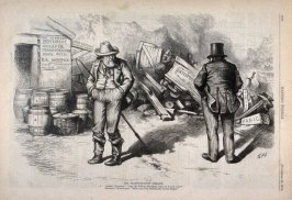 The Transportation Problem, from Harper's Weekly, (November 22, 1873), p. 1040