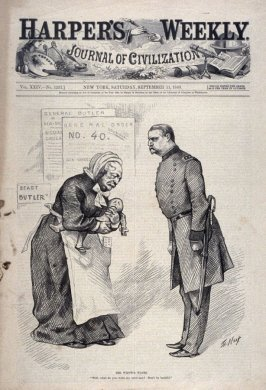 The Widow's Wants, from Harper's Weekly (September 11, 1880)
