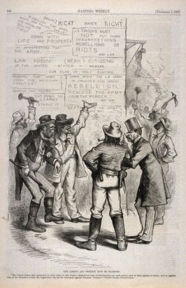 Life, Liberty and Property, from Harper's Weekly, (December 1, 1877), p. 948