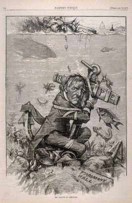 The Statute of Limitation, from Harper's Weekly, (February 3, 1877), p. 84