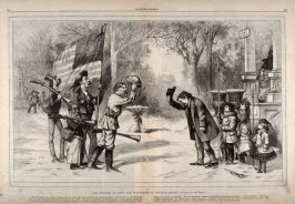 The Meeting of Nast and Watterson in Central Jersey - from Harper's Weekly, p. 248