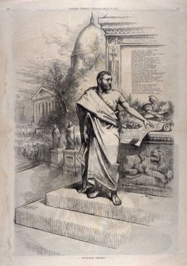 Functus Officio, from Harper's Weekly, (March 17, 1877), pp. 218-219