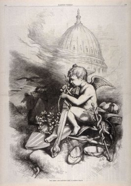 The Times Are Ripening for a Lasting Peace, from Harper's Weekly, (March 31, 1877), p. 248