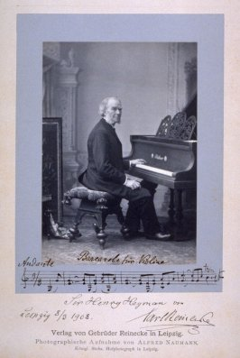 Carl Reinecke, pianist and teacher
