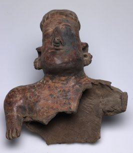 Partial Bust of a Hollow Figure