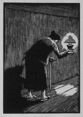 Sixth image (of thirteen) for The Mother , chapter 3 in the book Destiny, A Novel in Pictures by Otto Nückel (New York: Farrar and Rinehart,Inc. [1930 ])