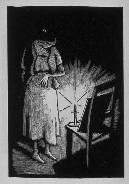 Second image (of twelve) for The Child , chapter 6 in the book Destiny, A Novel in Pictures by Otto Nückel (New York: Farrar and Rinehart,Inc. [1930 ])