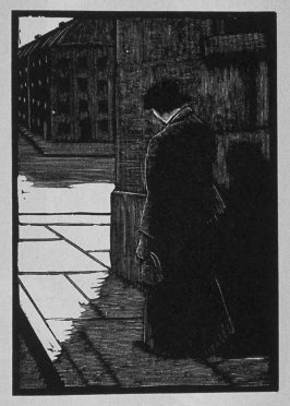 Second image (of twelve) for The Hunchback , chapter 7 in the book Destiny, A Novel in Pictures by Otto Nückel (New York: Farrar and Rinehart,Inc. [1930 ])