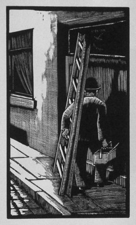 First image (ofeleven) for Love , chapter 8 in the book Destiny, A Novel in Pictures by Otto Nückel (New York: Farrar and Rinehart,Inc. [1930 ])