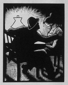 Fourth image (ofeleven) for Love , chapter 8 in the book Destiny, A Novel in Pictures by Otto Nückel (New York: Farrar and Rinehart,Inc. [1930 ])