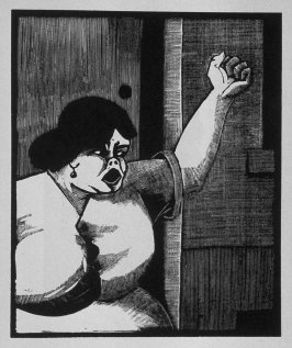 Sixth image (ofeleven) for Love , chapter 8 in the book Destiny, A Novel in Pictures by Otto Nückel (New York: Farrar and Rinehart,Inc. [1930 ])