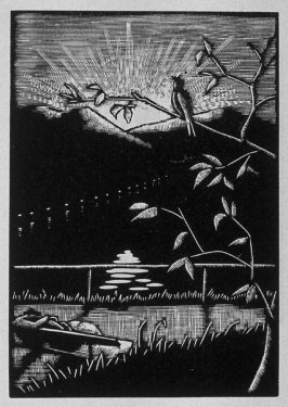 Eleventh image (ofeleven) for Love , chapter 8 in the book Destiny, A Novel in Pictures by Otto Nückel (New York: Farrar and Rinehart,Inc. [1930 ])