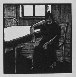 Eleventh image (ofeleven) for Vengeance , chapter 9 in the book Destiny, A Novel in Pictures by Otto Nückel (New York: Farrar and Rinehart,Inc. [1930 ])