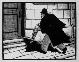 Seventh image (of ten) for The Sin , chapter 13 in the book Destiny, A Novel in Pictures by Otto Nückel (New York: Farrar and Rinehart,Inc. [1930 ])
