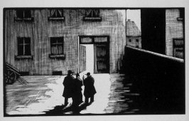 Fifth image (of eighteen) for Burden , chapter 14 in the book Destiny, A Novel in Pictures by Otto Nückel (New York: Farrar and Rinehart,Inc. [1930 ])